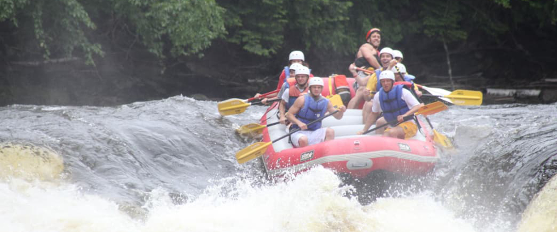 whitewater rafting in the midwest