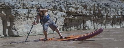 stand up paddle board San Juan river