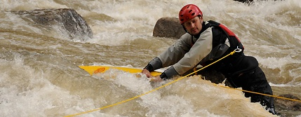 salamander throw ropes downstream recovery line