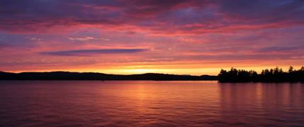 flatwater paddling Maine