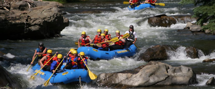 rafting colorado
