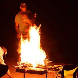 Rafting-Fire-Pan-Camping-Salamander-Paddle-Gear