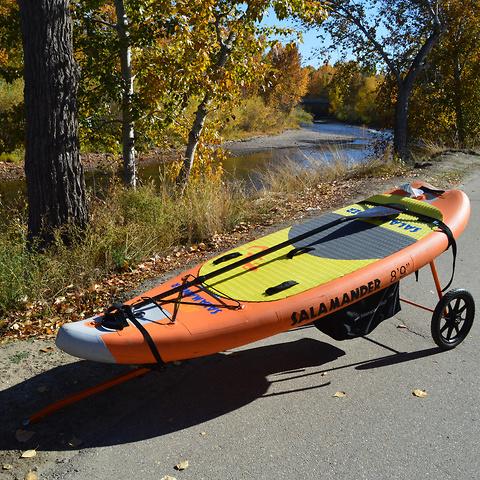Salamander-Bike-Trailer-Whitewater-Transport-SUP-Kayak-Cart-New