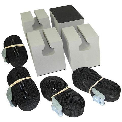 Canoe Roofootop Carrier Kit, Basic, Non-Skid