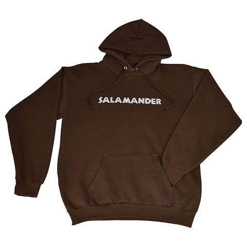 Salamander Heavyweight Pullover Hoodie, Dark Chocolate