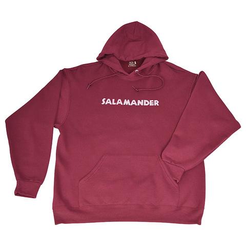 Salamander Lightweight  Pullover Hoodie, Maroon