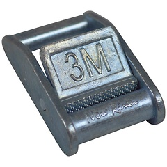 1 inch Stamped Cam Buckle, Metric Stamp, 3M Stamp