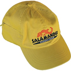 Salamander Logo Baseball Cap, Mustard